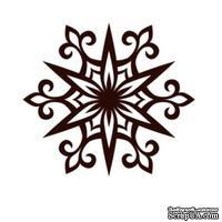Акриловый штамп Christmas Stamp SR062 Снежинка, размер 5 * 4,5 см