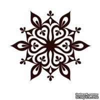 Акриловый штамп Christmas Stamp SR063 Снежинка, размер 5 * 4,3 см