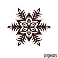 Акриловый штамп Christmas Stamp SR064 Снежинка, размер 5 * 4,3 см