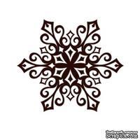 Акриловый штамп Christmas Stamp SR066 Снежинка, размер 5 * 4,3 см