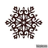 Акриловый штамп Christmas Stamp SR067 Снежинка, размер 5 * 4,4 см