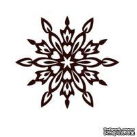 Акриловый штамп Christmas Stamp SR068 Снежинка, размер 5 * 4,5 см