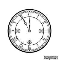 Акриловый штам  SR087 Часы, размер 4,4х4,4 см