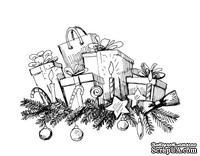 Акриловый штам  SR095 Подарки, размер 6,1х4,4 см