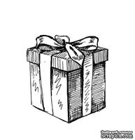 Акриловый штам  SR096 Подарок, размер 2,5х2,7 см