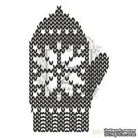 Акриловый штамп Lesia Zgharda SR185 Рукавичка, размер 3.6х5.8 см