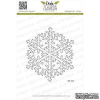 Акриловый штамп Lesia Zgharda SR223 Ice snowflake, размер 7.8 см