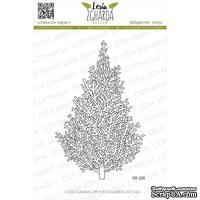 Акриловый штамп Lesia Zgharda SR226 Christmas tree, размер 6.7х10.5 см