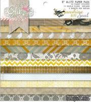 Набор бумаги от Glitz Design - Sunshine in Your Soul - 15х15 см