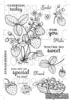 Набор акриловых штампов от Flourishes - Strawberries Stamp Set