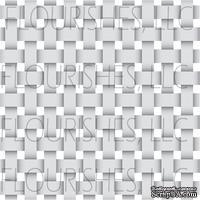 Акриловый штамп от Flourishes - Basketweave Stamp