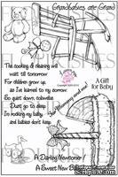Набор акриловых штампов от Flourishes - Baby Love Stamp Set
