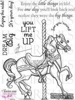 Набор акриловых штампов от Flourishes - Enjoy the Ride