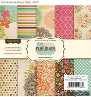 Набор бумаги от Simple Stories - Fabulous, 15х15см, 36 листов