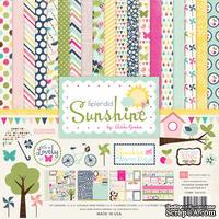 Набор бумаги для скрапбукинга от Echo Park - Splendid Sunshine, 30х30 см