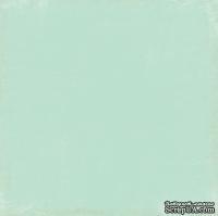 Лист скрапбумаги от Echo Park - Lt. Blue/Hot Pink Distressed Solid, 30х30 см