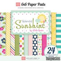 Набор бумаги для скрапбукинга от Echo Park - Splendid Sunshine, 15х15см