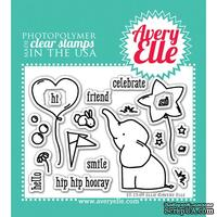 Акриловый штамп Avery Elle - Ellie Clear Stamps