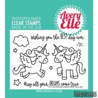 Акриловый штамп Avery Elle - Pegasus Duo Clear Stamps