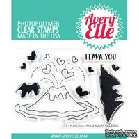 Акриловый штамп Avery Elle - Lava You Clear Stamps