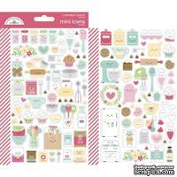 Набор наклеек от Dooblebug Mini Cardstock Stickers 2/Pkg - Made With Love Icons - ScrapUA.com
