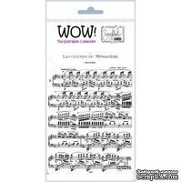 Акриловый штамп от Wow - French Music, 1 шт. - ScrapUA.com