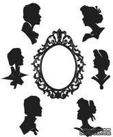 Набор резиновых штампов Stampers Anonymous - Stampers Anonymous - Tim Holtz - Artful Silhouettes Stamp Set, 7 шт