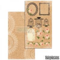 Лист скрапбумаги Studio75 - Craftlove - дизайн 06, 17х30.5 см, двусторонний