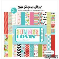 Набор двусторонней бумаги Carta Bella - Summer Lovin - Paper Pad, размер 15х15 см