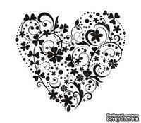 Акриловый штамп SV011 Сердце, размер 5,2 * 4,9 см