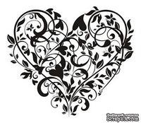 Акриловый штамп SV012 Сердце, размер 6 * 5,2 см