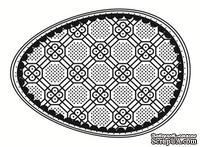 Акриловый штамп SW001a Пасхальное яйцо, размер 4,3 * 6 см