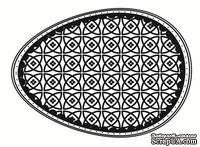 Акриловый штамп SW002a Пасхальное яйцо, размер 4,3 * 6 см