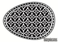 Акриловый штамп SW005a Пасхальное яйцо, размер 4,3 * 6 см