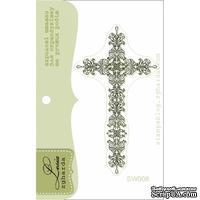 Акриловый штамп Lesia Zgharda Хрест SW008, 3,3*6,1см