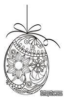 Акриловый штамп SW011 Пасхальное яйцо, размер 4,5 * 7,2 см