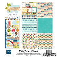 Набор бумаги от Echo Park - Sunshine Mini Theme, 30х30 см,