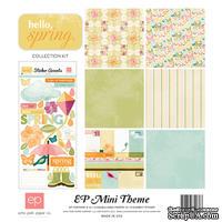 Набор бумаги от  Echo Park - Hello Spring Mini Theme, 30х30 см,