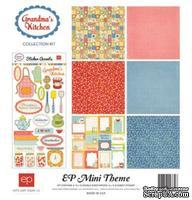 "Мини-набор бумаги от Echo Park ""Grandma's Kitchen Collection Kit"", 30х30, 6 листов"