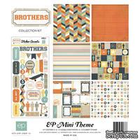 Набор бумаги от  Echo Park - Brothers Mini Theme, 30х30 см