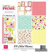Набор бумаги и декора от Echo Park - Picnic Collection Kit, 30x30 см