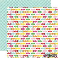 Лист скрапбумаги от Echo Park - Candy Sweets, 30х30 см