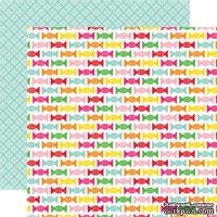 Двусторонний лист бумаги от Echo Park - Candy Sweets, 30,5x30,5см