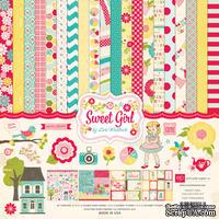 Набор бумаги от Echo Park - Sweet Girl Collection Kit, 30х30см
