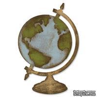 Лезвие от Sizzix - Tim Holtz - Vintage Globe Bigz Die