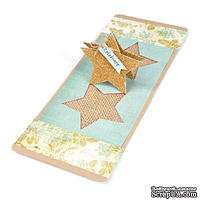 Лезвие Sizzix Pop 'n Cuts Magnetic Insert Die - Star, 3-D (Pop-Up)
