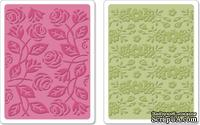 Папки для тиснения Sizzix - Textured Impressions Embossing Folders - Garden Set, 2 шт.