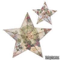 Лезвие Sizzix - Bigz L Die - Star Bright, 3-D