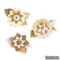 Ножи от Sizzix - Sizzix Sizzlits Decorative Strip Die - Summer Florals - Летние Цветы