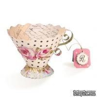 Лезвие Sizzix Bigz L Die - Tea Cup, 3-D